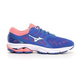 Zapatillas running Mizuno Wave Ultima 11 azul/salmon mujer