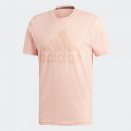 Camiseta adidas MH BOS Tee salmón hombre