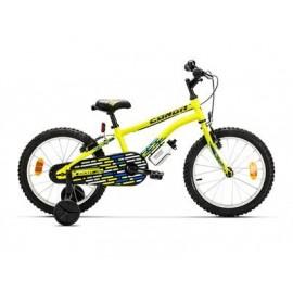 """Bicicleta conor Rocket 18"""" amarillo"""