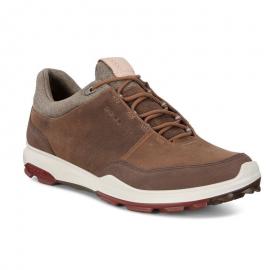 Zapatos golf Ecco Biom Hybrid 3 camel hombre