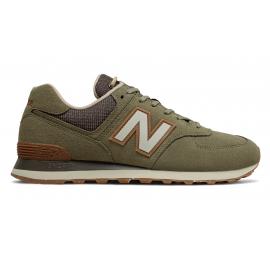 Zapatillas New Balance ML574SOJ verde hombre