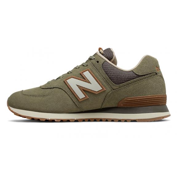 zapatillas hombre new balance 574 verdes