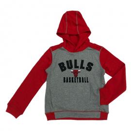 Sudadera Outerstuff NBA Retro Block Bulls gris junior