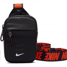 Bolso Nike Advance Essentials S Hip negro/rojo