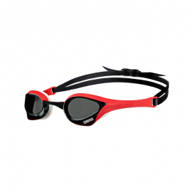 Gafas natación Arena Cobra ultra smoke/roja/blanca
