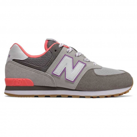 Zapatillas New Balance GC574SOC gris/morado junior