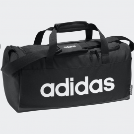 Bolsa deporte adidas Linear Duffle S negro/blanco