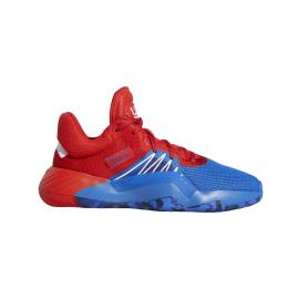 Zapatillas baloncesto adidas D.O.N. Issue 1 azul/rojo niño