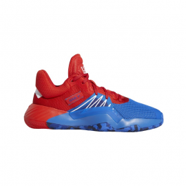 Zapatillas baloncesto adidas D.O.N. Issue 1 azul/rojo junior