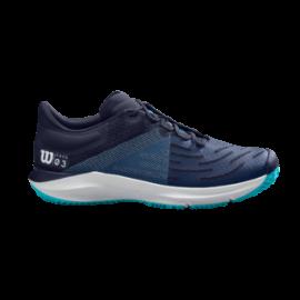 Zapatillas tenis/pádel Wilson Kaos 3.0 azul hombre