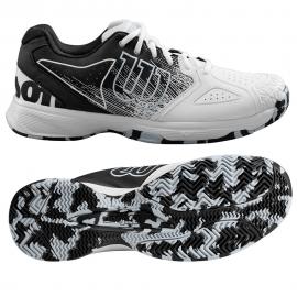 Zapatillas tenis/pádel Wilson Kaos Devo blanco/negro hombre