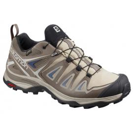 Zapatillas trekking Salomon X Ultra 3 GTX W marrón mujer