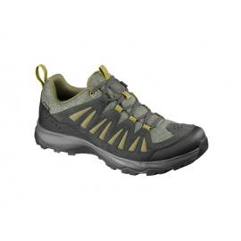Zapatillas montaña Salomon Eos GTX verde hombre