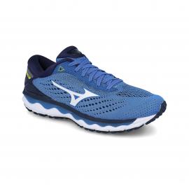 Zapatillas running Mizuno Wave Sky 3 azul/blanco hombre