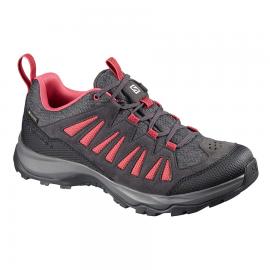 Zapatillas montaña Salomon Eos GTX W gris mujer