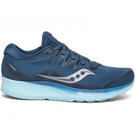Zapatillas running Saucony Ride Iso 2 azul mujer