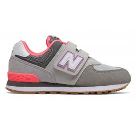 Zapatillas New Balance YV574SOC gris/morado niña