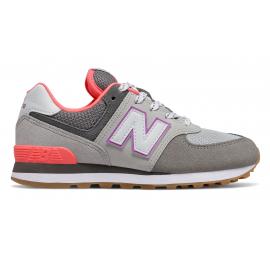 Zapatillas New Balance PC574SOC gris/morado niña