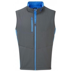 Chaleco Footjoy Thermal Quilted gris hombre