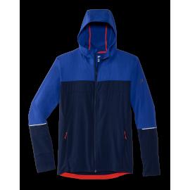 Cortavientos running Canopy Jacket azul hombre
