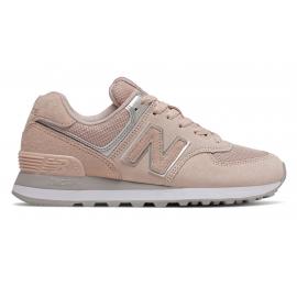 Zapatillas New Balance WL574EQ rosa/gris mujer