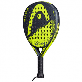 Pala padel Head Flash negro/amarillo