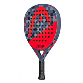 Pala padel Head Delta gris/rojo junior