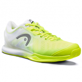 Zapatillas pádel Head Sprint Pro 3.0 Sanyo amarillo/blanco