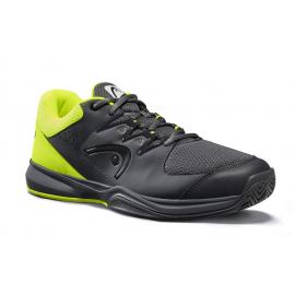 Zapatillas tenis Head Brazer 2.0 negro/amarillo hombre