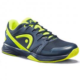 Zapatillas pádel Head Extreme Clay azul/amarillo hombre