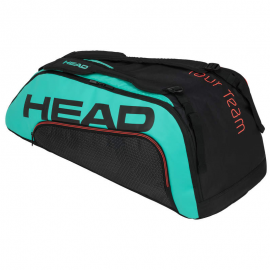 Raquetero Head Tour Team 9R Supercombi negro/turquesa