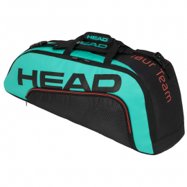 Raquetero Head Tour Team 6R Combi negro/turquesa