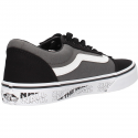 Zapatillas Vans Ward negro/gris/blanco junior