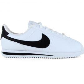 Zapatillas Nike Cortez Basic leather blanco/negro hombre