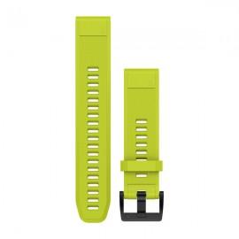 Pulsera Garmin Fenix 5 Qf22 silicona amarilla 010-12496-02
