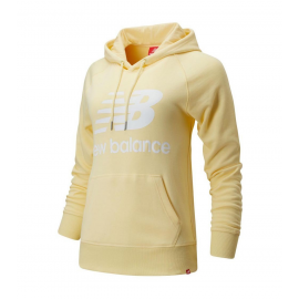 Sudadera New Balance Essentials Pullover amarillo mujer