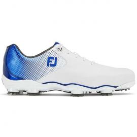 Zapato golf Footjoy DNA Helix blanco/azul hombre