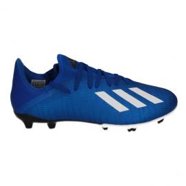 Zapatillas fútbol adidas X 19.3 FG azul hombre