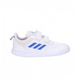 Zapatillas adidas Tensaur C blanco/azul junior