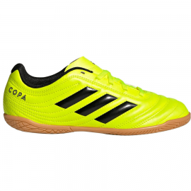 Zapatillas fútbol sala adidas Copa 19.4 IN J amarillo jr
