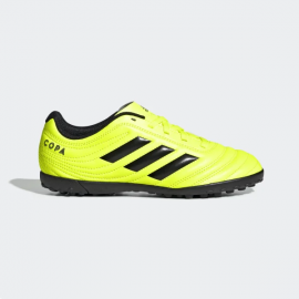 Zapatillas fútbol adidas Copa 19.4 TF J amarillo junior
