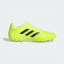 Botas fútbol adidas Copa 19.3 AG amarillo fluor hombre
