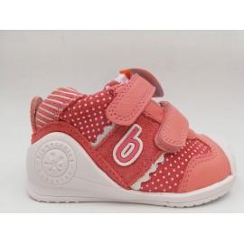 Zapatillas Biomecanics 202128 rosa bebé