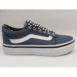 Zapatillas Vans Ward azul/blanco junior