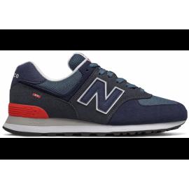 Zapatillas New Balance ML574EAE azul/gris/rojo hombre