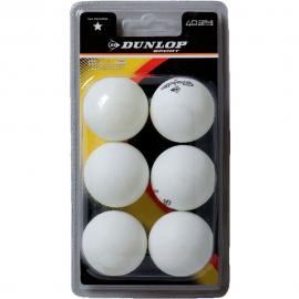 Pelota Ping pong Dunlop 40+ Club Champ blister 6 bolas