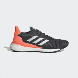 Zapatillas running adidas Solar Glide 19 gris/blanco/coral