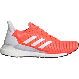 Zapatillas running adidas Solar Glide 19 coral/blanco mujer