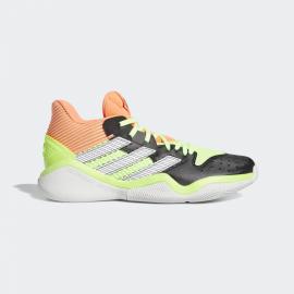 Zapatillas baloncesto adidas Harden Stepback negro/lima homb