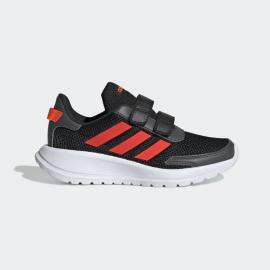 Zapatillas adidas Tensaur Run C negro/rojo niño